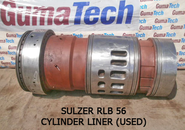 RLB 56 Sulzer Engine Used Water Jacket For Cylinder Cover